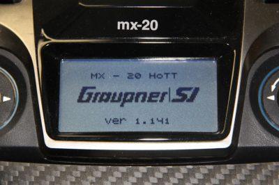 Graupner mx20 Telemetrie